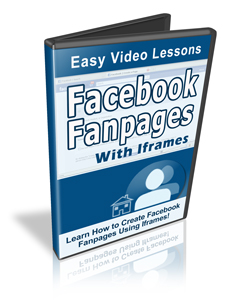 facebook fanpages with iframe videos
